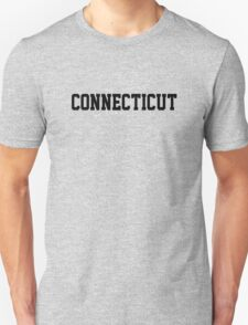 Connecticut Jersey Black T-Shirt