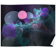 Fractal Bubbles Poster