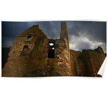 Castle N Bewick Poster