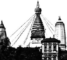 Swayambhunath by Liam  Camp
