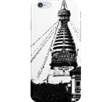 Swayambhunath iPhone Case/Skin