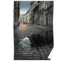 Cracow - Jozefa Street, Kazimierz Poster