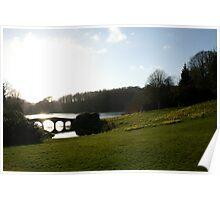 Stourhead Bridge Poster