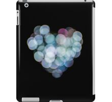 Valentines Abstract heart shaped lights  iPad Case/Skin