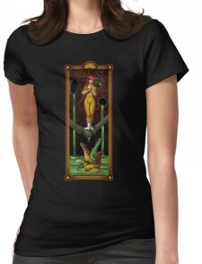 The Haunted Sewer: Reporter Girl Womens Fitted T-Shirt