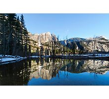 Cook's Meadow Yosemite national Park, California USA Photographic Print