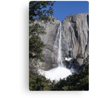Yosemite upper falls, Yosemite national Park, California USA Canvas Print