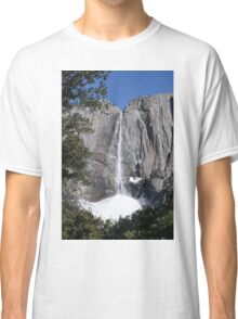 Yosemite upper falls, Yosemite national Park, California USA Classic T-Shirt