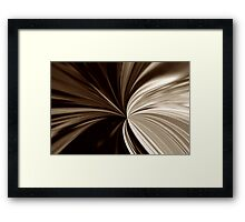 Milk Chocolate Framed Print