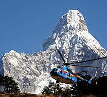 Himalaya Rescue, Nepal by Patty (Boyte) Van Hoff