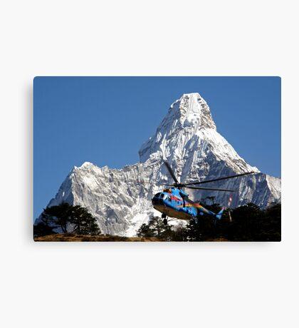 Himalaya Rescue, Nepal Canvas Print