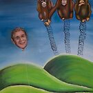 Mr Bush and the wise monkeys by catherine galfetti