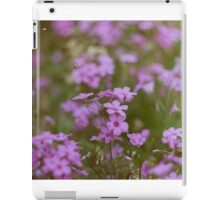 Film flowers iPad Case/Skin