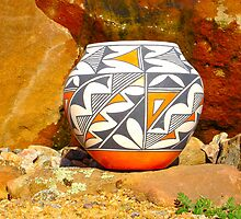 Acoma Pottery001 by DanTheBugleMan