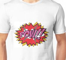 Cartoon POW!! Unisex T-Shirt