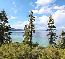 Mount Tallac trailhead overlooking lake Tahoe, California, USA by PhotoStock-Isra