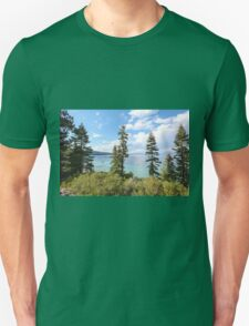 Mount Tallac trailhead overlooking lake Tahoe, California, USA T-Shirt