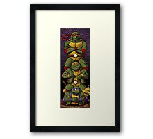 The Haunted Sewer: Quick Sludge Framed Print