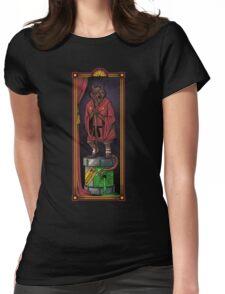 The Haunted Sewer: Mutagen Keg Womens Fitted T-Shirt