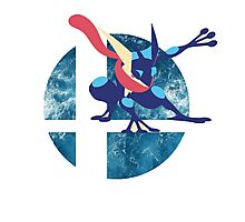 Super Smash Bros Greninja Photographic Print