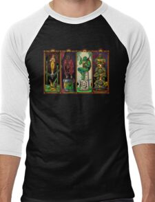 The Haunted Sewer Men's Baseball ¾ T-Shirt