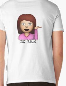bye Felicia emoji Mens V-Neck T-Shirt
