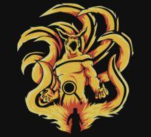 Kurama Fire Naruto by limon93