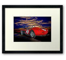 1958 Ferrari 250GT Testa Rossa IV Framed Print