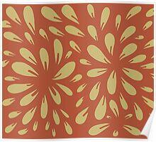 blossom (orange/gold) Poster