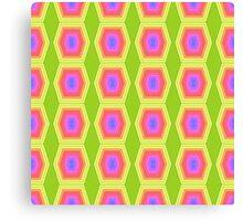 Powered Honeycomb Canvas Print