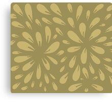 blossom (gold) Canvas Print