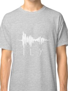 I Love You Sound Wave Classic T-Shirt