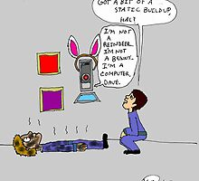 Easter with the HAL-9000 by flippinkmoon
