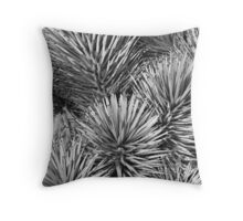 Joshua Tree Textures Throw Pillow