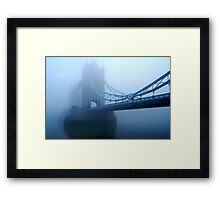 London Smog Framed Print