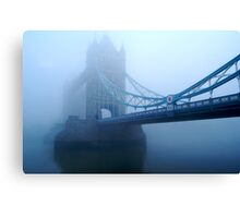 London Smog Canvas Print