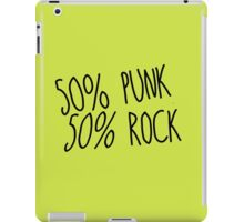 100% Punk Rock iPad Case/Skin