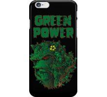 GREEN POWER iPhone Case/Skin