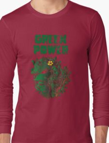 GREEN POWER Long Sleeve T-Shirt