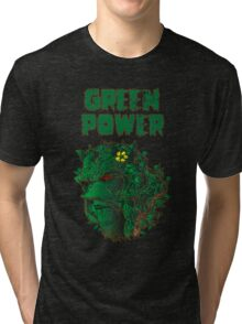 GREEN POWER Tri-blend T-Shirt