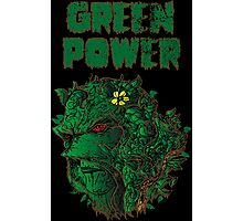 GREEN POWER Photographic Print