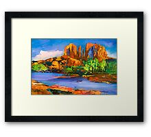 Cathedral Rock Afternoon Framed Print