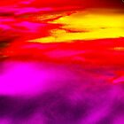 Abstract Sunset by Genevieve  Brown