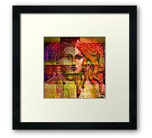 """ The body is the temple of the spirit. "" Framed Print"