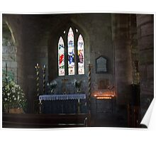 Side Altar - St Mary the Virgin Poster