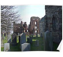 Lindisfarne Priory, Holy Island Poster