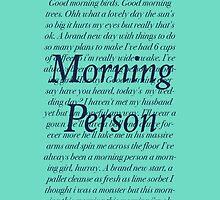 Shrek- Morning Person by kndancer