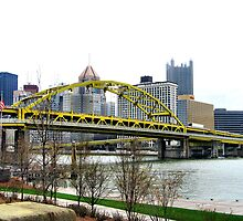 Fort Pitt Bridge, Pittsburgh by Lyndsay81