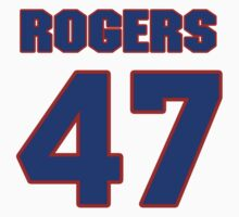National baseball player Jimmy Rogers jersey 47 by imsport