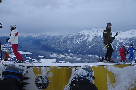 Snowboard's View by pixiella